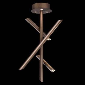 Semiplafon Take Bronce 30W - Dimable 5771
